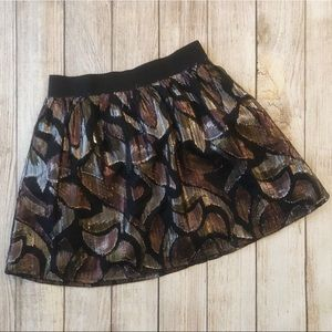 Free People Shimmer Skirt Size Small
